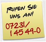 Hermann PostIT Telefon - Rufen Sie uns an